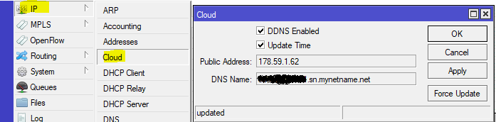 How to setup DDNS in Mikrotik without a script - Nubcakes